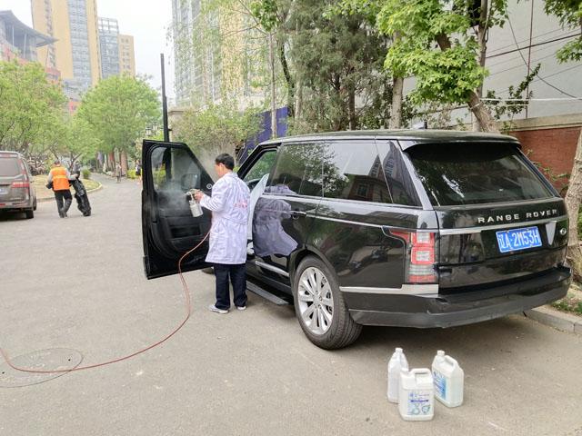 汽车新车除甲醛-除异味-车内除甲醛多少钱一次