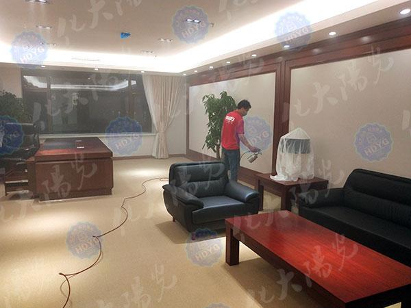 丰台区角门中国康复研究中心除甲醛、办公室除甲醛、装修甲醛检测治理、室内空气净化项目