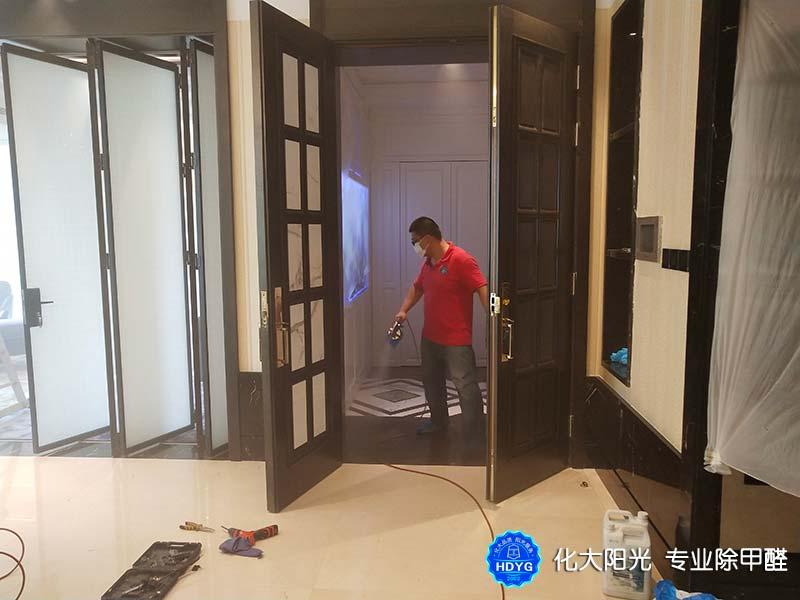 新房地板除甲醛