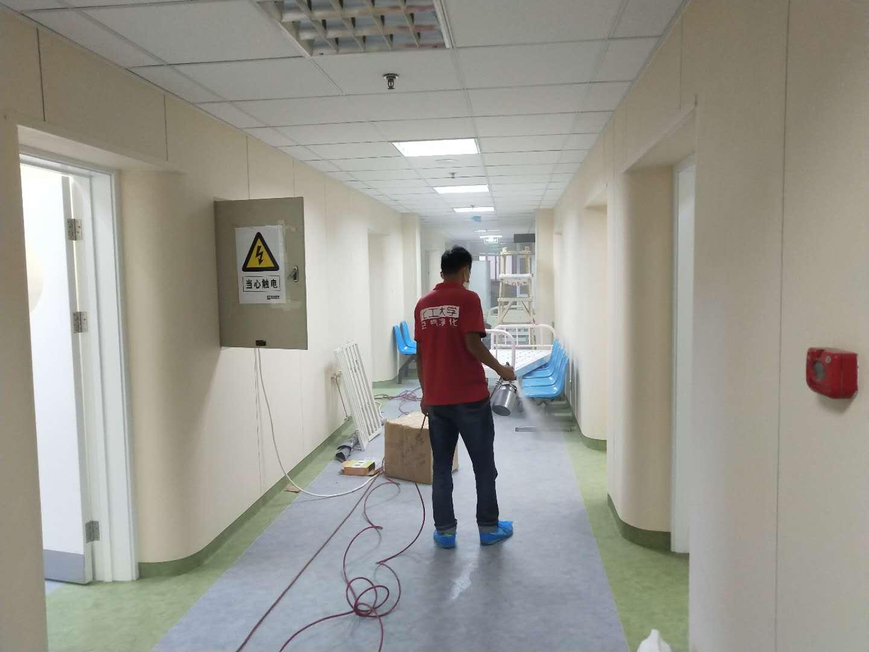 新装修医院甲醛处理