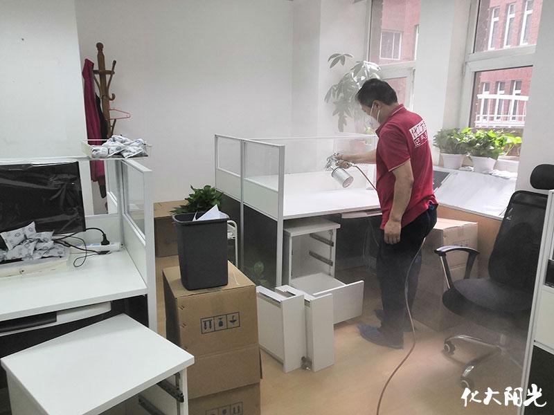 外研社新办公室除甲醛