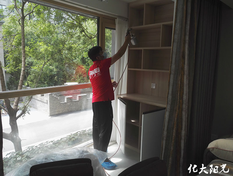 北京除甲醛正规公司化大阳光专业除甲醛的真的管用吗