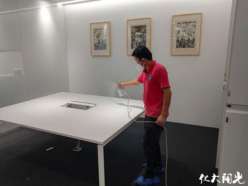 新装修办公室装修除甲醛除味化大阳光办公室装修去除甲醛